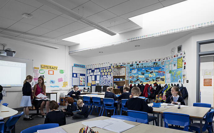 Colour and complexity: how to design a stimulating classroom