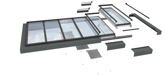 How are VELUX Modular Skylights different to other skylight systems on the market?