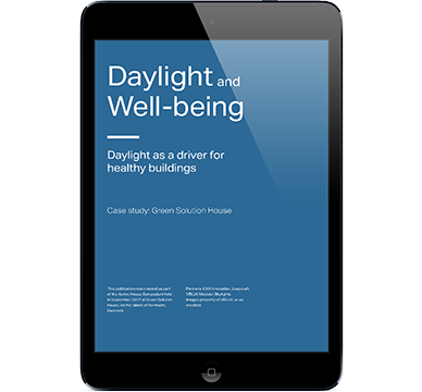 Daylight as a driver for healthy buildings